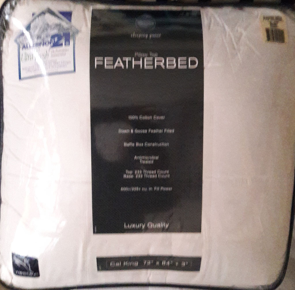 Featherbed Pillowtop