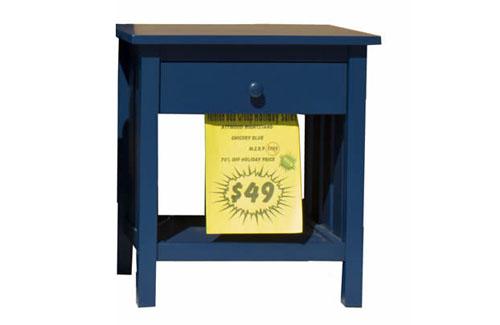 Attwood Chicory Blue Nightstand