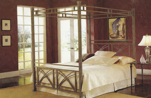 Ellipse Canopy Bed