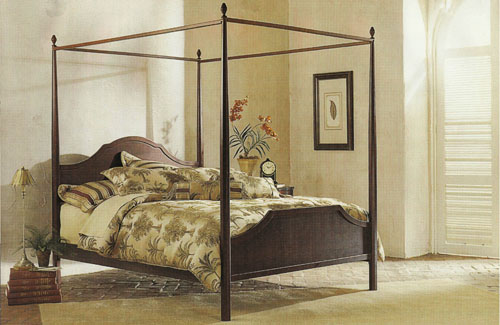 Spire Canopy Bed
